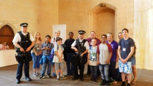 London calling YCV visit Houses of Parliament