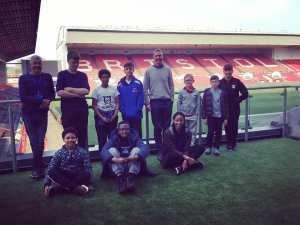 Bristol City Football Club Stadium Tour