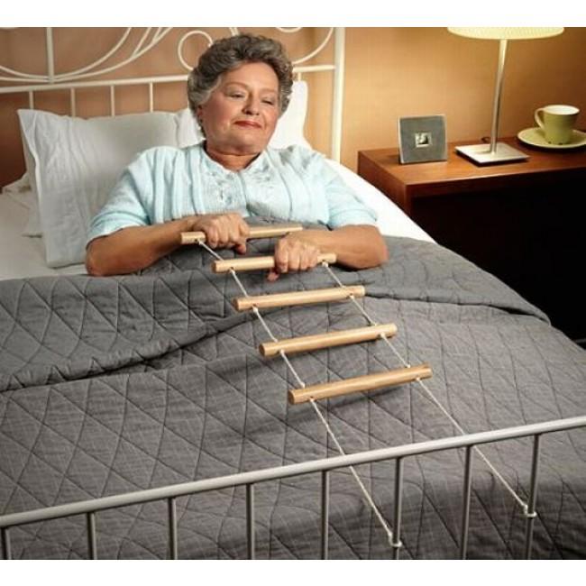 Wooden Bed Rope Ladder Carestore
