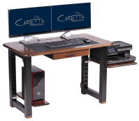 Small Shelf for Loft Desk, Walnut - Caretta Workspace