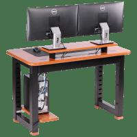 Loft Desktop Riser Shelf, Natural Cherry - Caretta Workspace