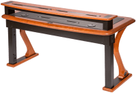 Premium Wood Desktop Riser Shelf Full