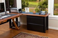 Lateral File Cabinet for L Shaped Desks - Caretta Workspace