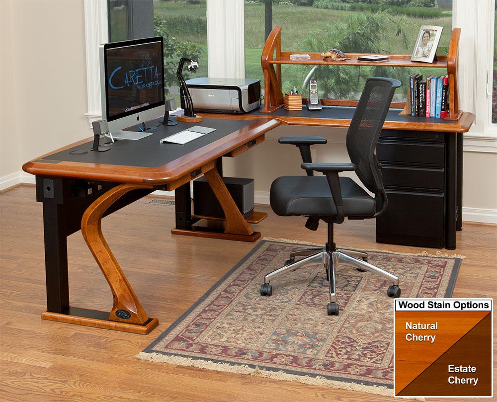 Artistic Computer Desk Full L Shaped Right  Caretta