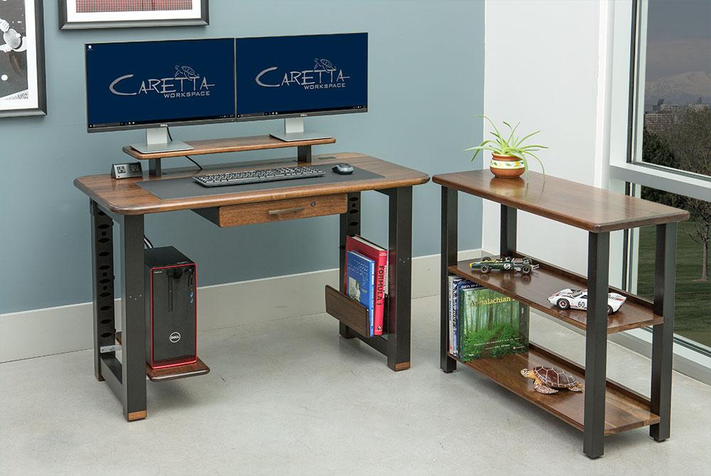 Loft Desk Black Walnut  Caretta Workspace