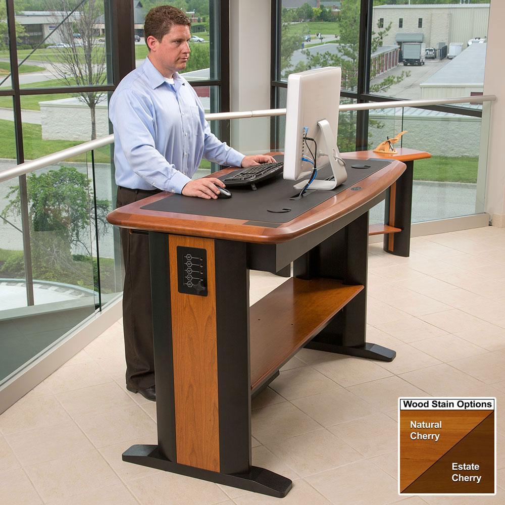Standing Computer Desk Full  Caretta Workspace
