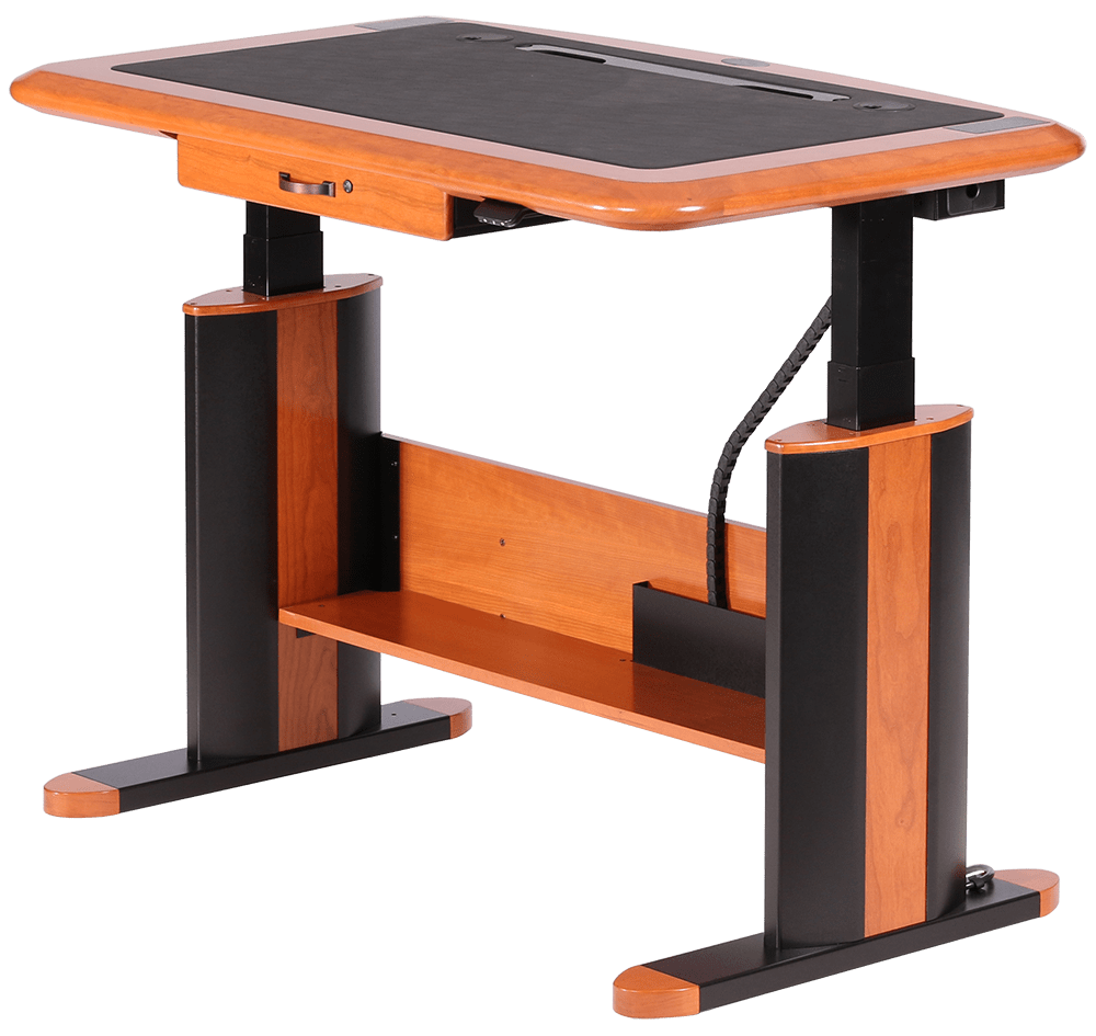 Wellston Executive SitStand Desk Standard Size  Caretta