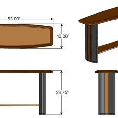 Sofa Table Size Set In India Pune Console Caretta Workspace The