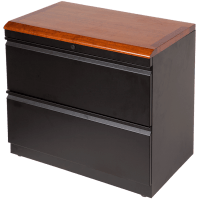 Box Box File with Premium Wood Top - Caretta Workspace