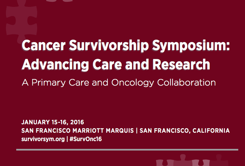 Cancer Survivorship Symposium: Advancing Care and Research