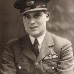 Pilot Officer Anthony Barnes in Uniform circa 1940