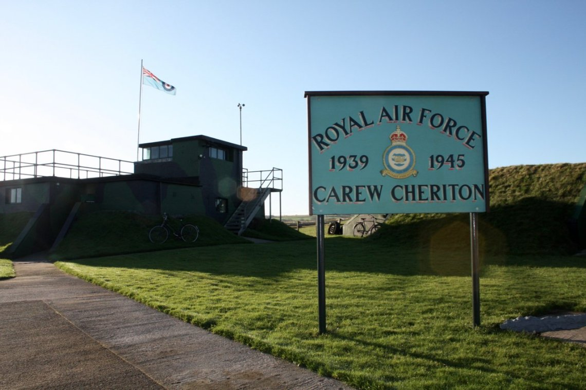 RAF Carew Cheriton Control Tower