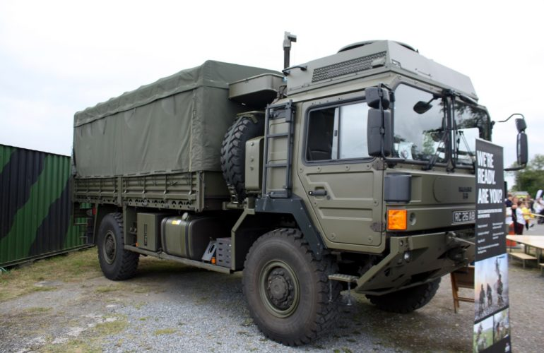 Welsh Transport Regiment Army Vehicles