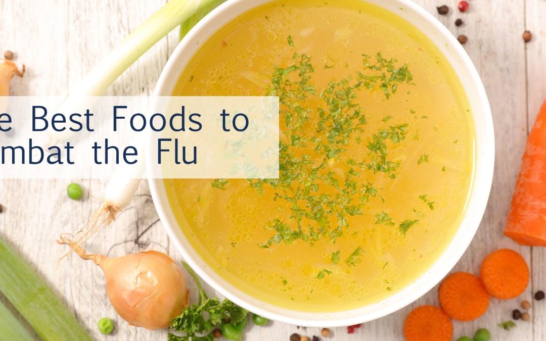 The best diet/foods to combat the flu