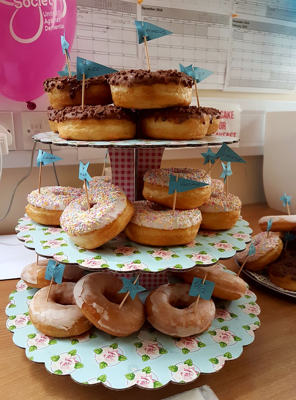 Cakes for carers Alzheimers Society