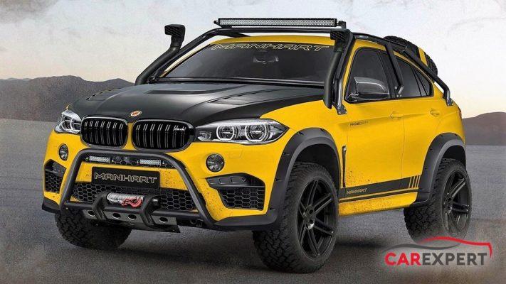 BMW X6竟然被改造成爬山涉水的越野車?德國Manhard就來改造給你看! | 汽車專家