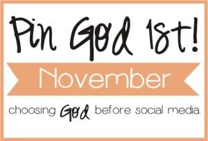 November Pin God 1st Logo