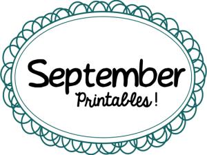 September Printables Slider