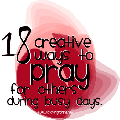 18 ways to pray