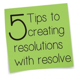 resolutions with resolve