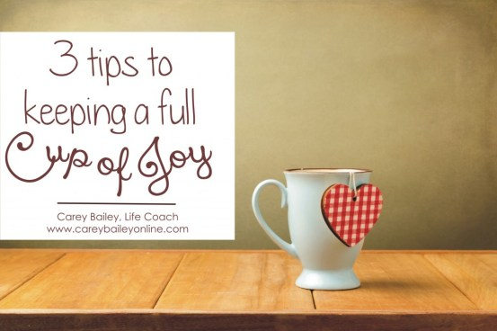 Cup of Joy  Scripture Memory