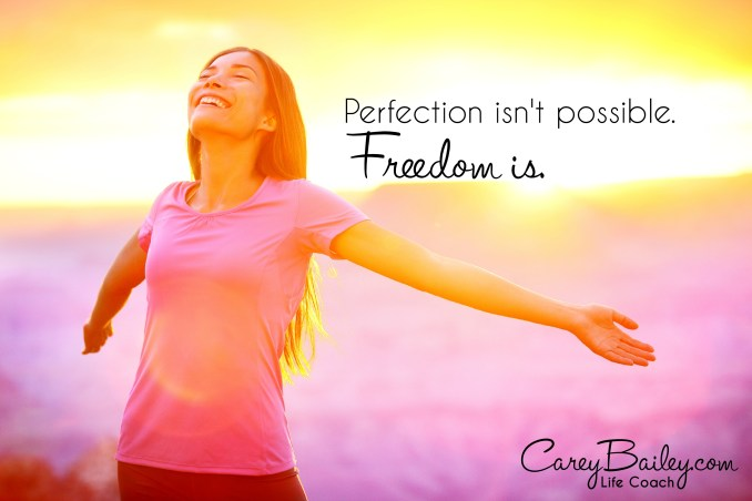 perfection isn't possibble