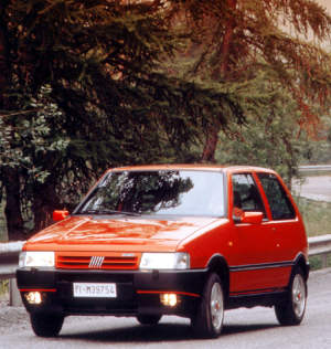 1989 Fiat Uno Turbo ie specifications  stats 38269