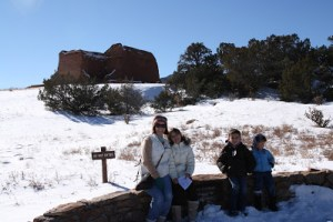 Pecos National Historical Park is an easy stop off of I-25 to stretch your legs and your mind.