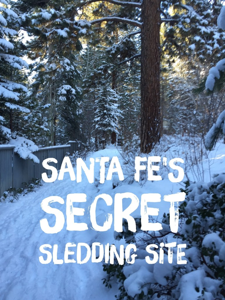 Free Sledding Near Santa Fe Big Tesuque Campground