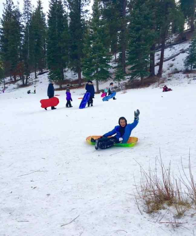 Things To Do In Lake Tahoe With Kids Archives Carful Of Kids - The best sledding hills in north america