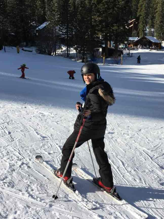 Lake Tahoe offers a crazy fast sledding hill for kids