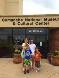 Explore the Comanche Museum when you explore Lawton with kids