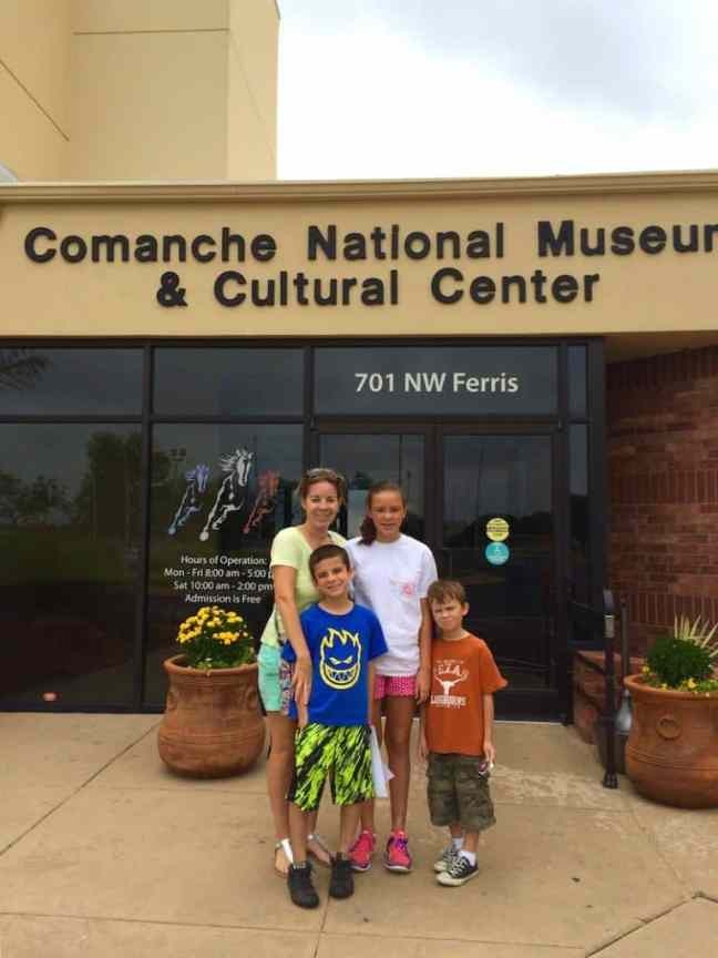 Explore the Comanche Museum when you explore Lawton with kids