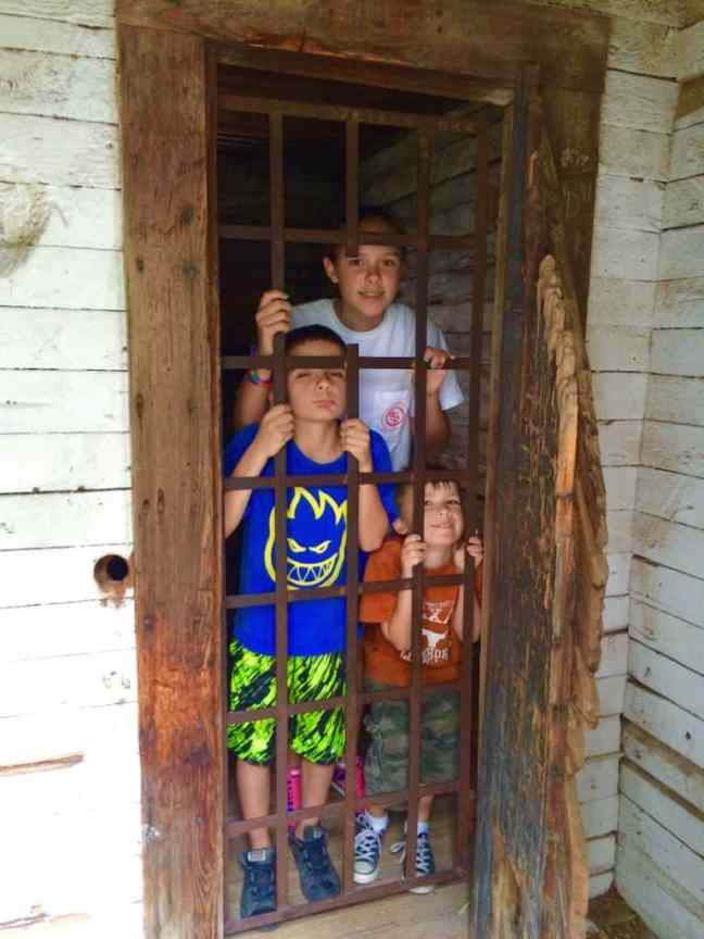 Dodge City's Boot Hill Jail is a must for families when road tripping.