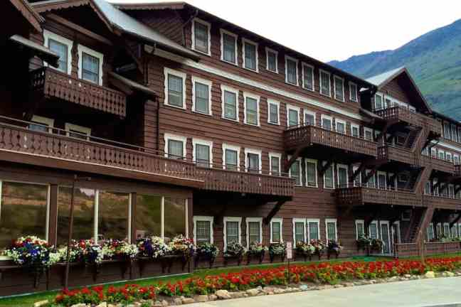 Tour a historic hotel as one of the things to do in Glacier National Park with kids.