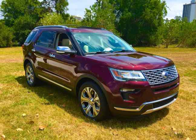 the 2018 All-New Ford SUVs like the Ford Explorer
