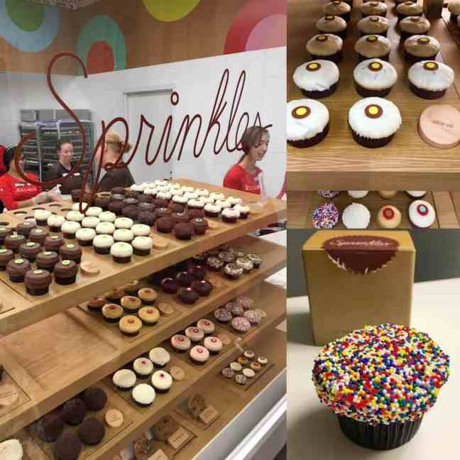 Enjoy cupcakes at Sprinkles in Disney Springs with kids.