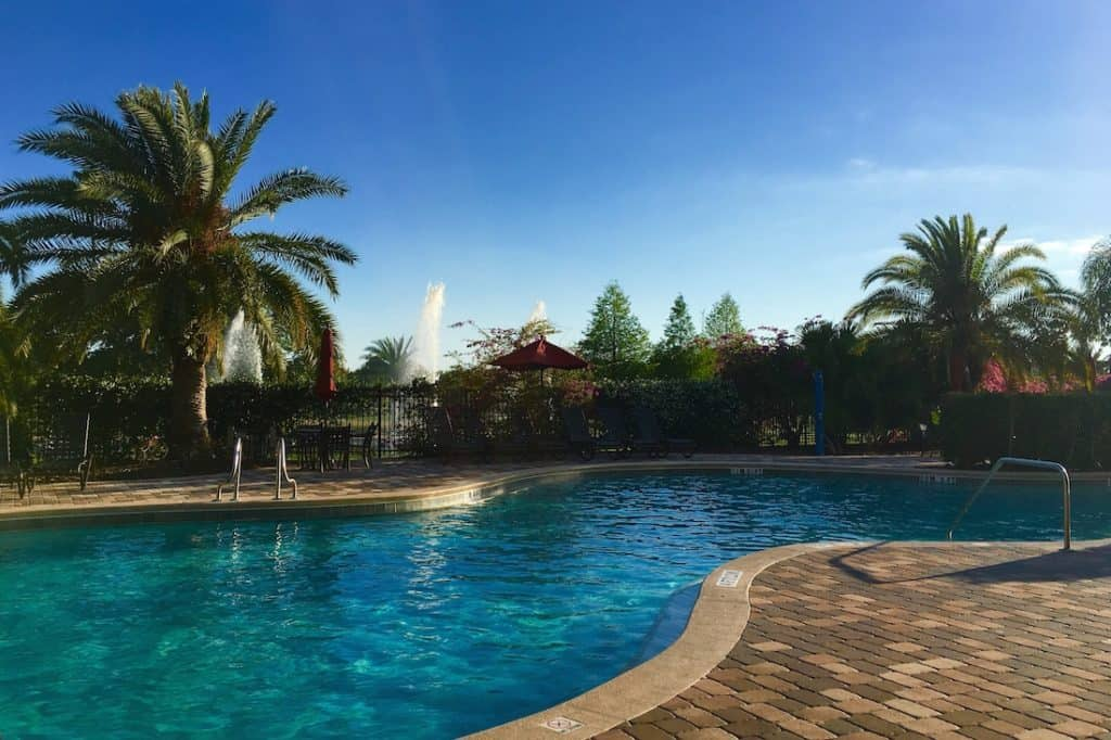 Get more for your money at mystic dunes orlando lodging for Terrace pool