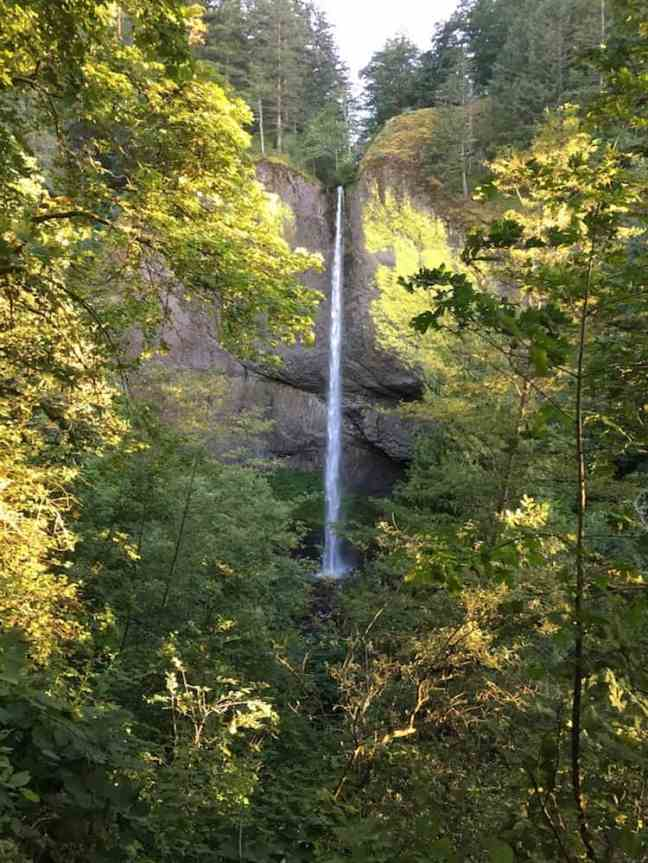 Explore the waterfalls when you visit Columbia River Gorge with kids.