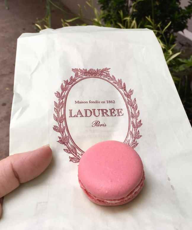 Where to eat in NYC with teens, Laduree for macarons.