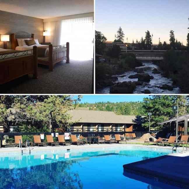 Stay at Riverhouse on the Deschutes and what to do in Bend with kids.