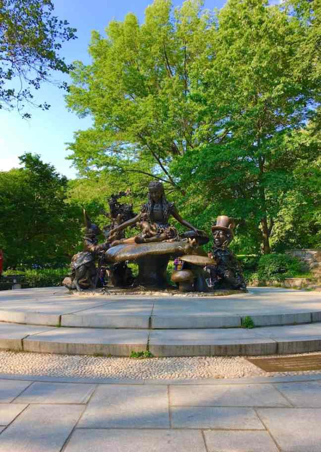 Walk through Central Park during your 4 day NYC itinerary.