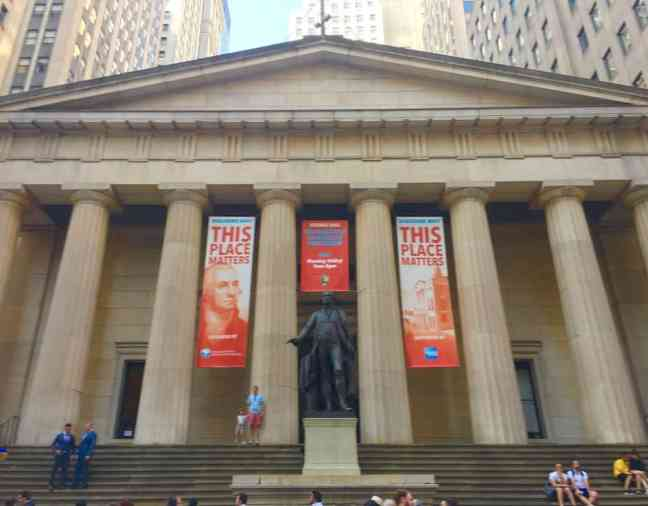 Visit Federal Hall during your 4 day NYC itinerary