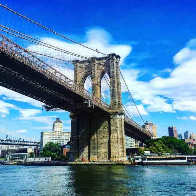 Brooklyn Bridge 4 Day NYC itinerary.