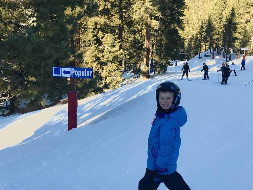 diamond peak resort for kids | lake tahoe family ski resorts