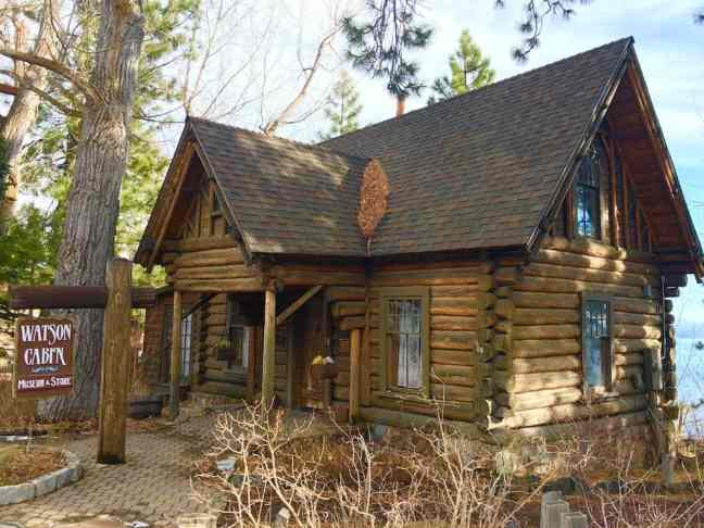 Watson Cabin, Where to go in Tahoe City with Kids.
