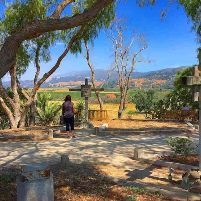 Visit Old Mission Santa Ines. What to do in Solvang with kids.