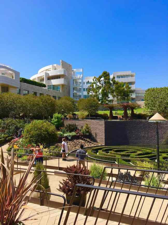 Tour the Getty Center. where to go in LA with kids.