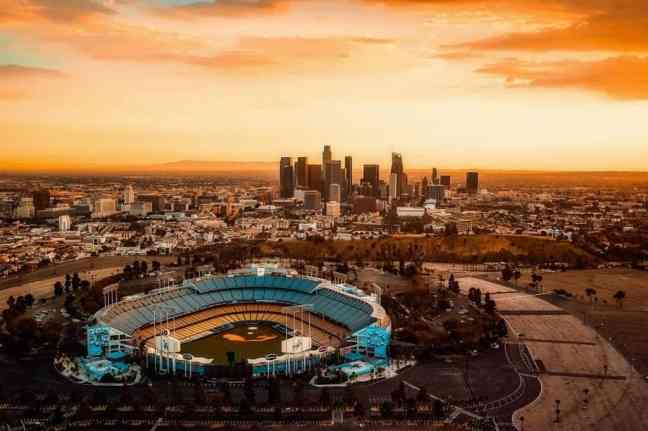 Watch a Dodgers Game, where to go in LA with kids.