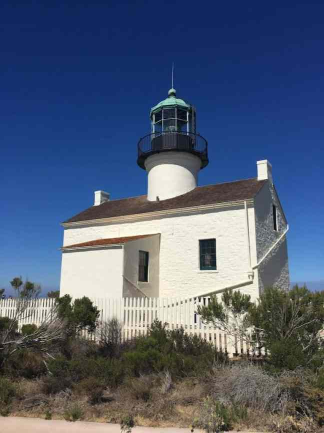 Old Point Loma Lighthouse. Where to go in San Diego with Kids.